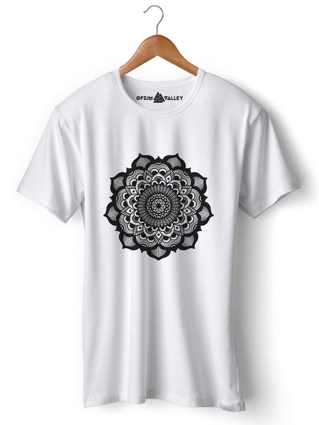 Mandala - Round Neck T-Shirt - Opium Valley