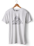 Valknut - Round Neck T-Shirt - Opium Valley