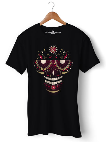 Psy Face - Round Neck T-Shirt - Opium Valley