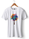 Psy Tree - Round Neck T-Shirt - Opium Valley