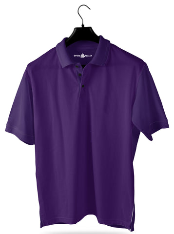 Purple- Polo T-shirt - Opium Valley