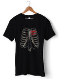 Rib Cage - Round Neck T-Shirt - Opium Valley