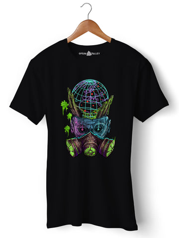 Virus - Round Neck T-Shirt