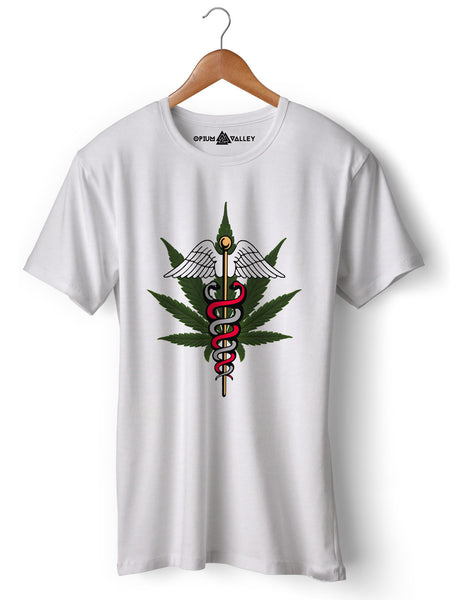 Tree of Life - Round Neck T-Shirt - Opium Valley