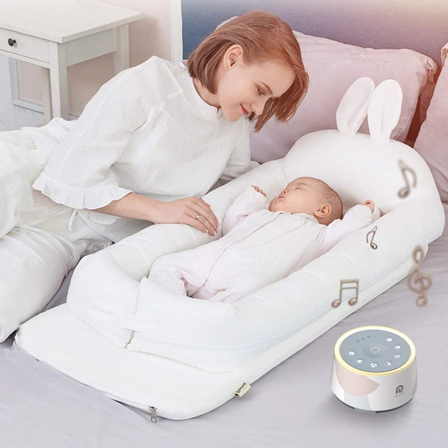Dreamegg D1 Pro Sound Machine, 3-in-1 Baby Soother Sound Machine Night Light