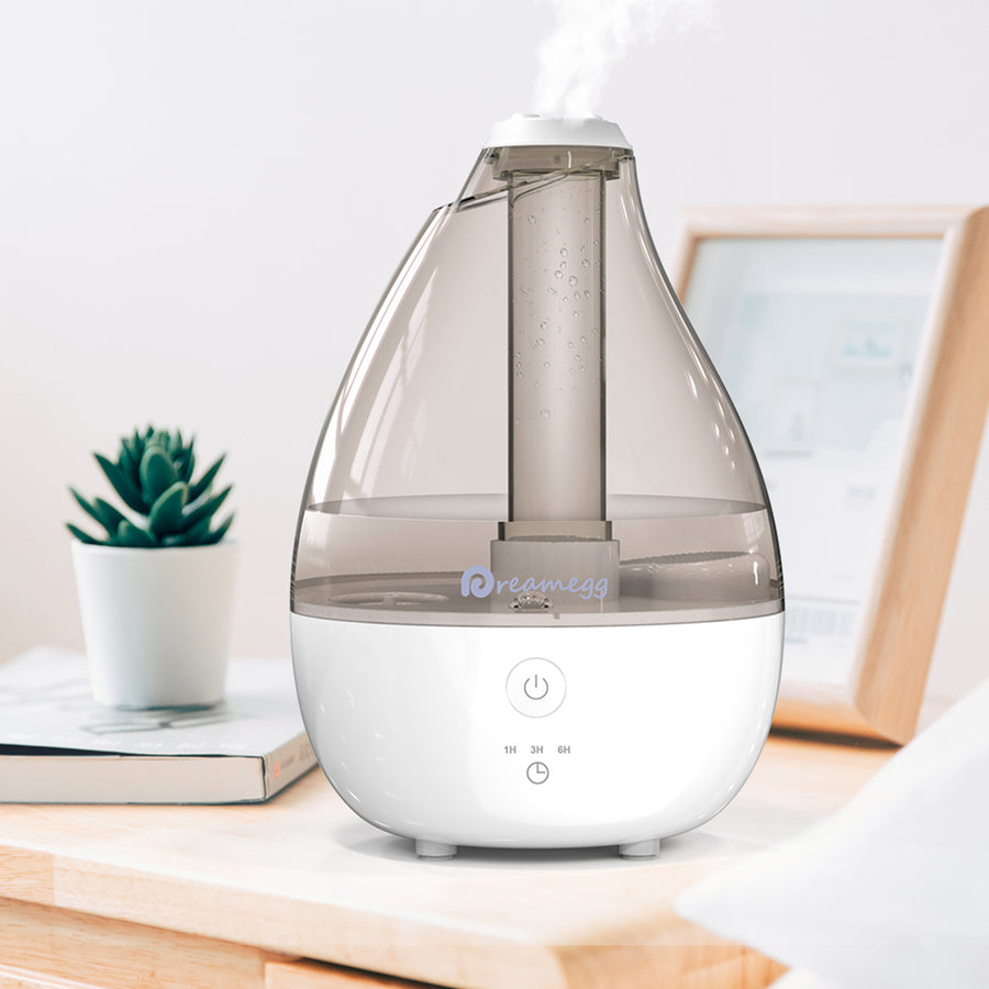 Dreamegg 2L Cool Mist Humidifier - Grey