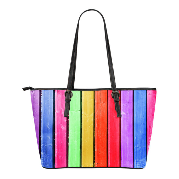 Beach Hut Stripe Small Handbag