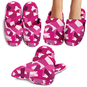 Breast Cancer Awareness Slippers