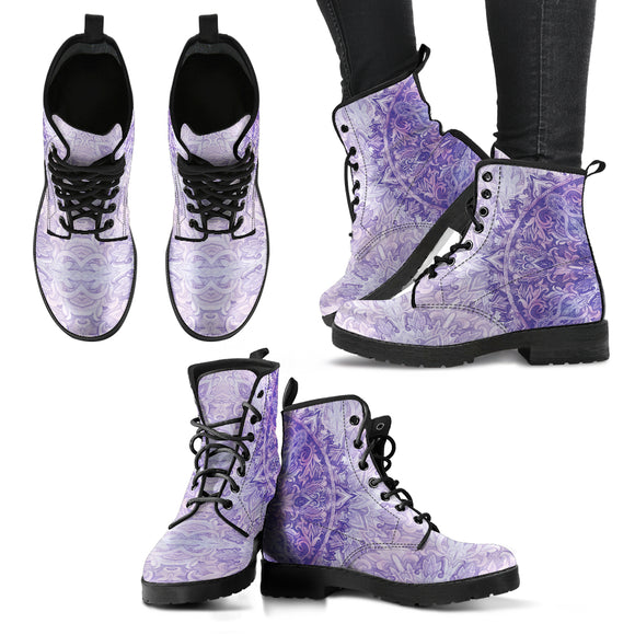 Mandala 1 Women's Leather Boots