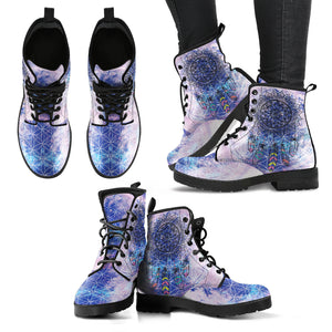 Chakra Dreamcatcher Women's Leather Boots