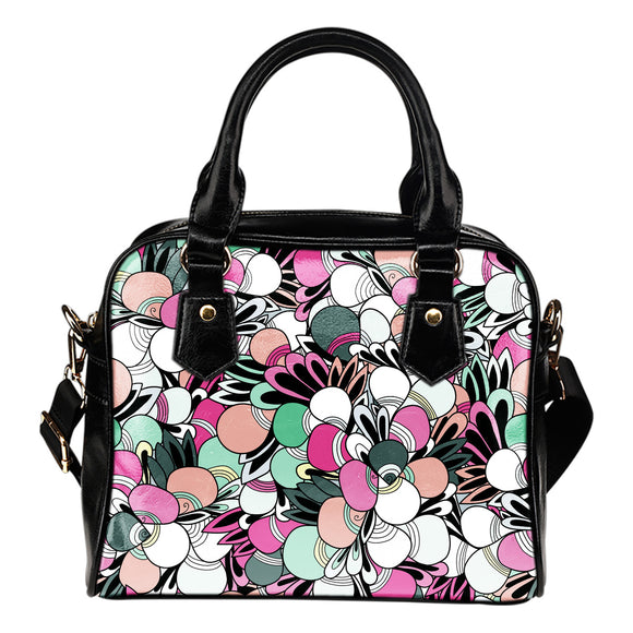 Funky Patterns in Candy - Shoulder Bag