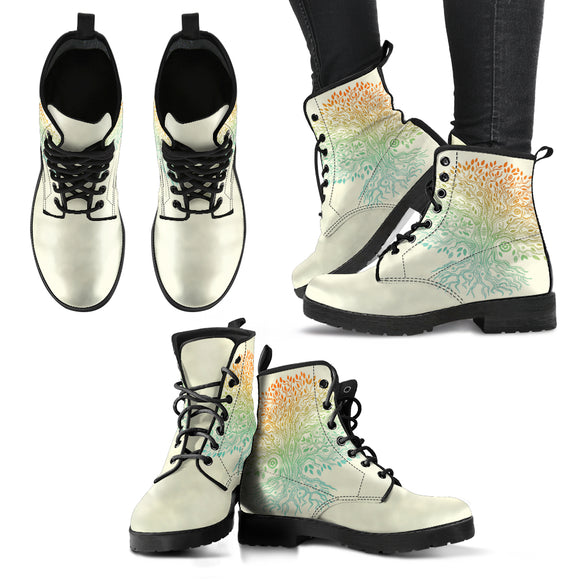 Tree of Life 5 Women's Leather Boots
