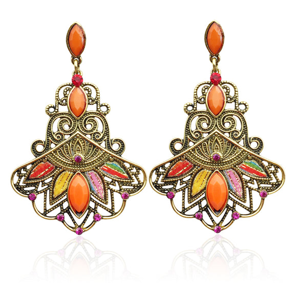 Multicolor Ethnic Bohemian Earrings
