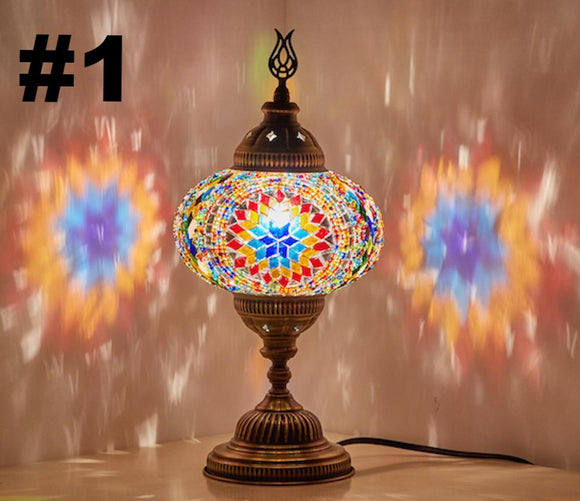 Handmade Boho Table Lamp