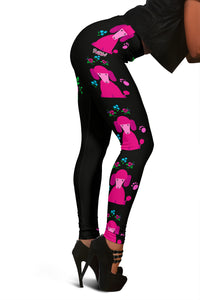 Faithful Poodles Leggings for Poodle Dog Lovers
