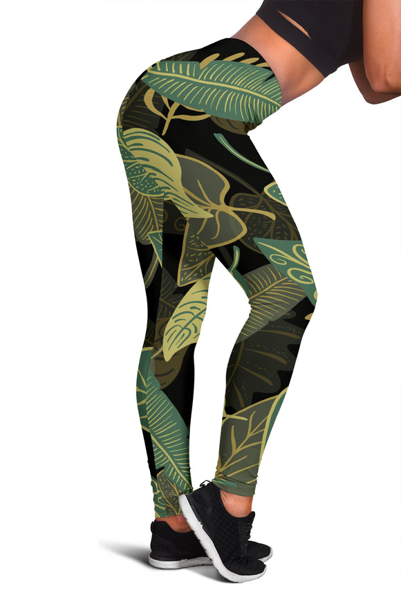 Women's Leggings - Jungle Nights