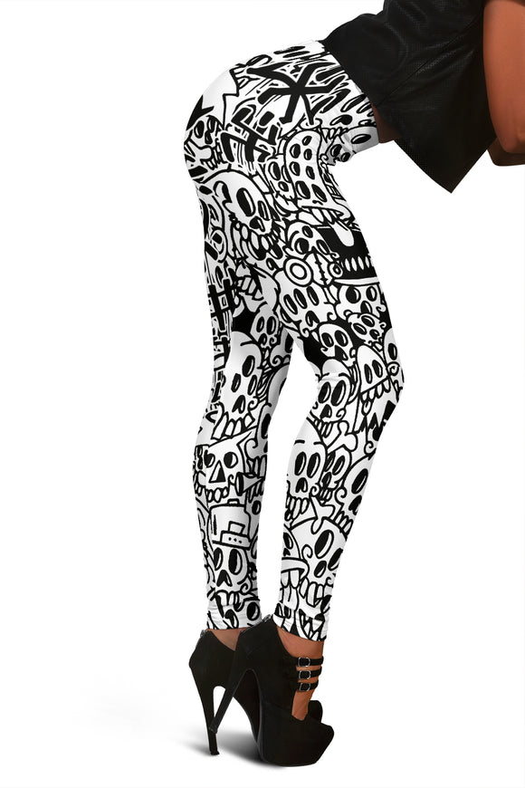 Ladies Leggings All Eyes