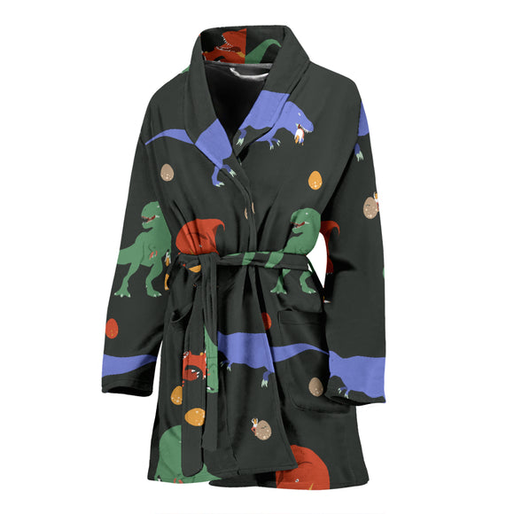 T-Rex WOMEN'S ROBE