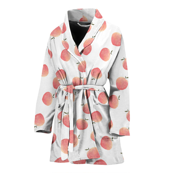 Peach WOMEN'S BATHROBE
