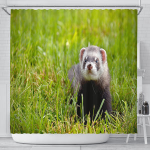 Ferret Lovers Shower Curtain