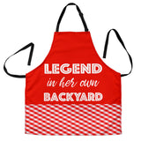 Backyard Legend Womens Apron