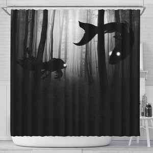 Ruddy Mysterious [Shower Curtain]