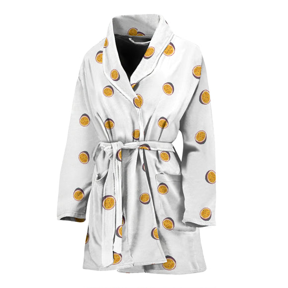 Passion fruit WOMEN'S BATHROBE