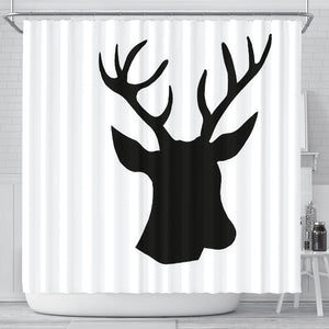 Shower Curtain Deer