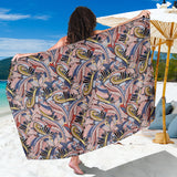 Funky Patterns in Pinks - Sarong Wrap