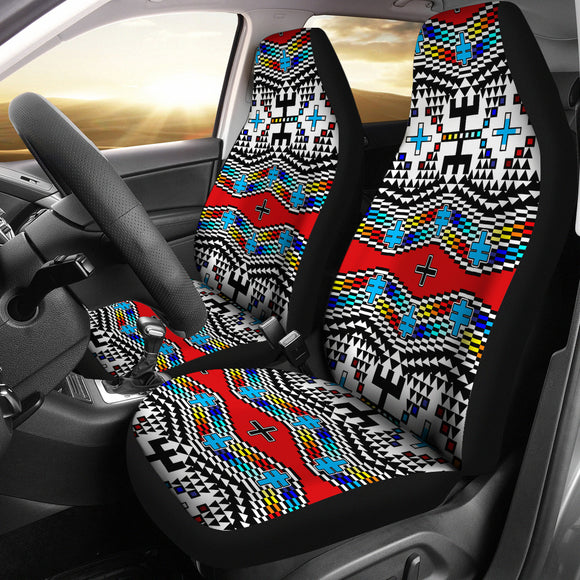 Dragonflies Set of 2 Car Seat Covers