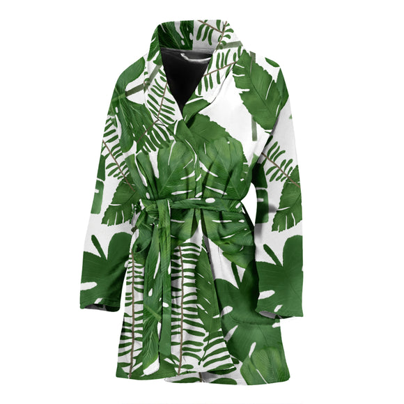 Leaves WOMEN'S BATHROBE