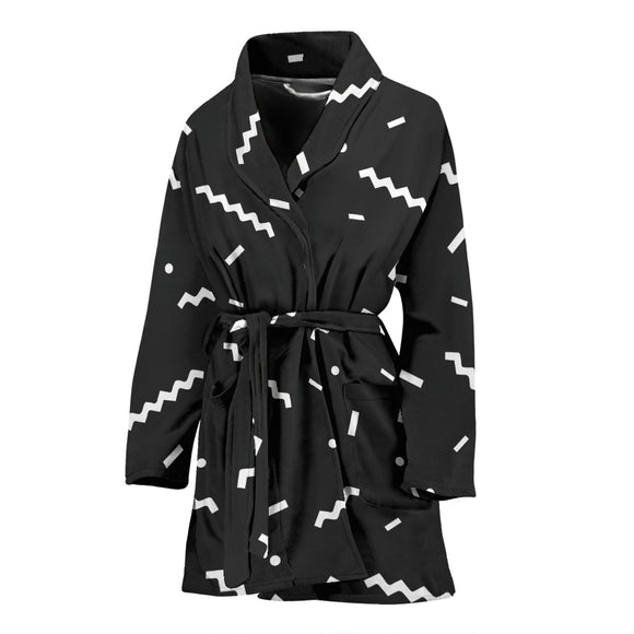 Abstract WOMEN'S BATHROBE