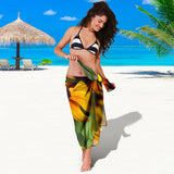 Sarong - Yellow Daisies Design