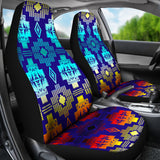 Blue Shades  Set of 2 Car Seat Covers
