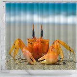 Shower Curtain ~ Crab