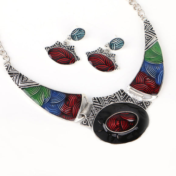 Alloy Statement Necklace