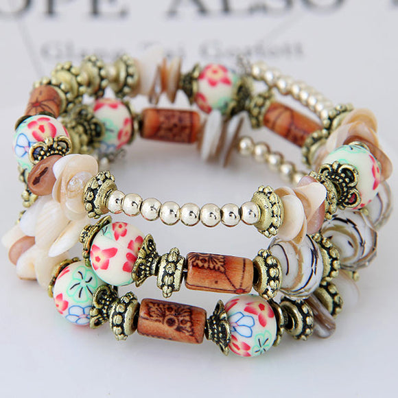 Bohemian Multilayer Ethnic Women Bracelet