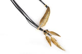 Bohemian Feather Statement Necklace