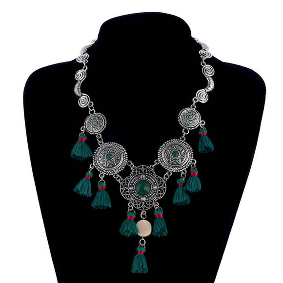 Bohemian Maxi Statement Collar Necklace