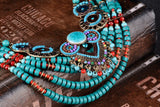 Boho Multilayer Maxi Statement Necklace