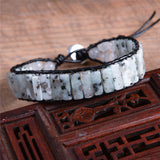 Vintage Leather Wrap Bracelet