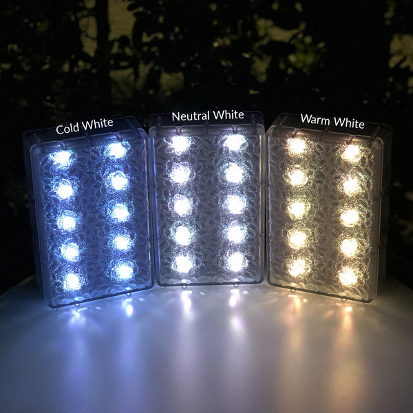6x9 Neutral White Solar Brick Light