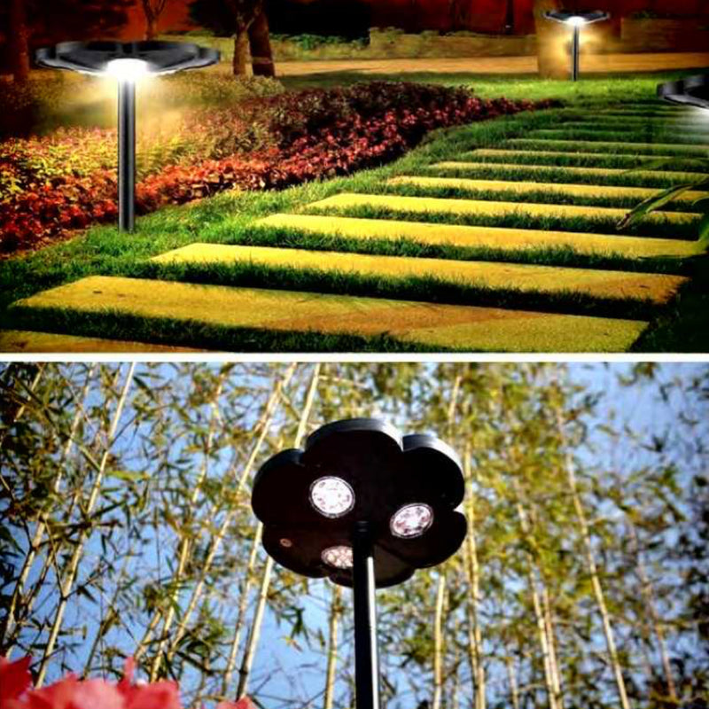 Lucky Flower Solar Garden/Wall Lights | FREE SHIPPING