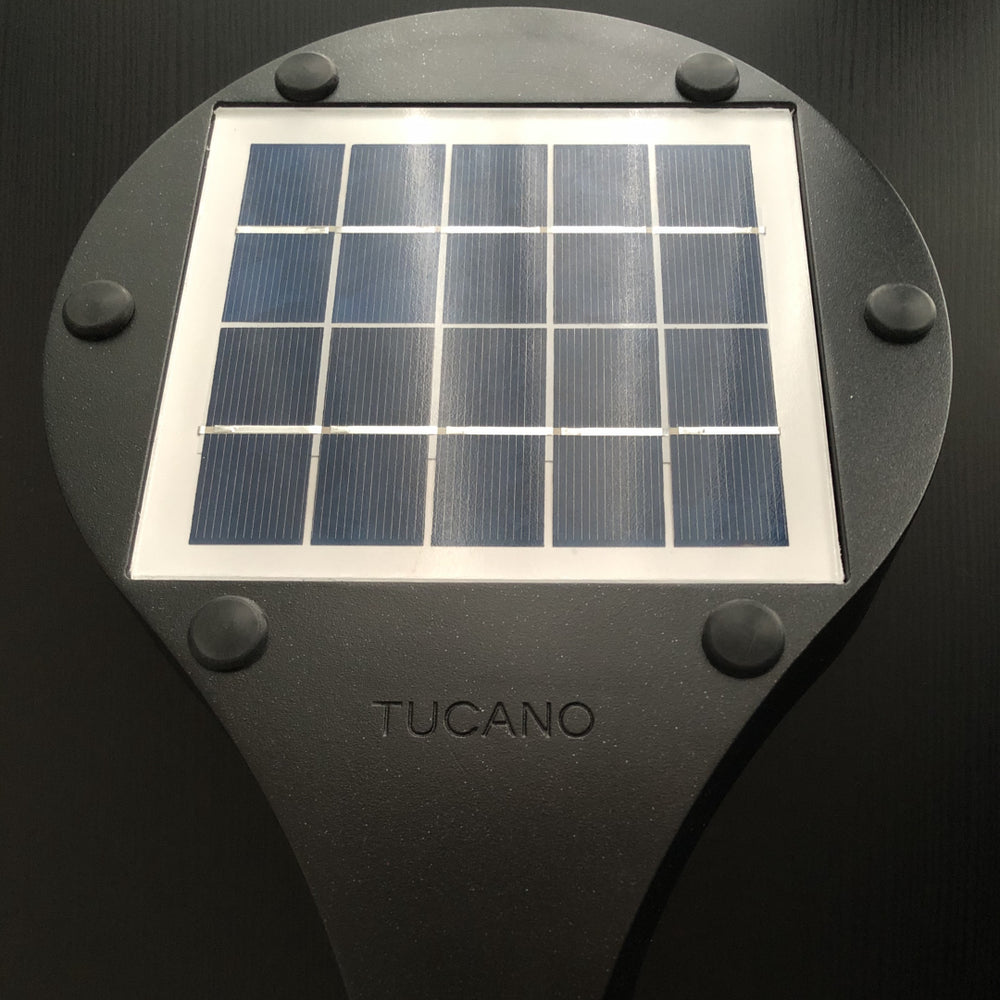 Tucano 600 Lumens Solar Power Wall Light | FREE SHIPPING