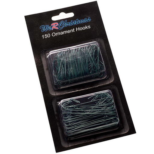 Bauble Ornament Hooks Multi Pack Green, Pack of 150