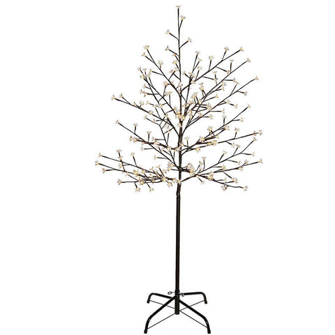 Pre-Lit 200 LED Illuminated Cherry Blossom Tree, 5 ft/1.5 m - Warm White