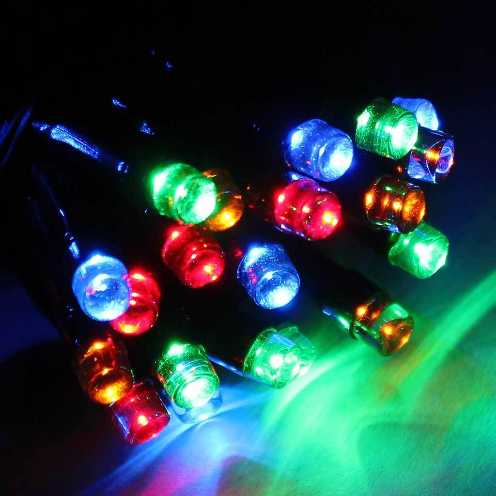 360 LED Christmas Tree Chasing Static Lights String, 30 m Cable, Multi- Colour