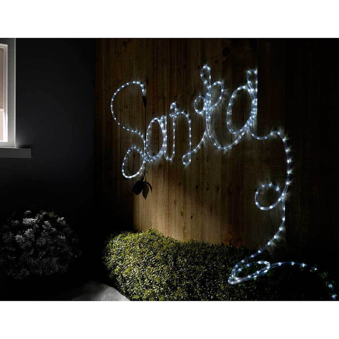 LED Rope Light with Multi-Function Controller, 8 m - Bright White | WeRChristmas