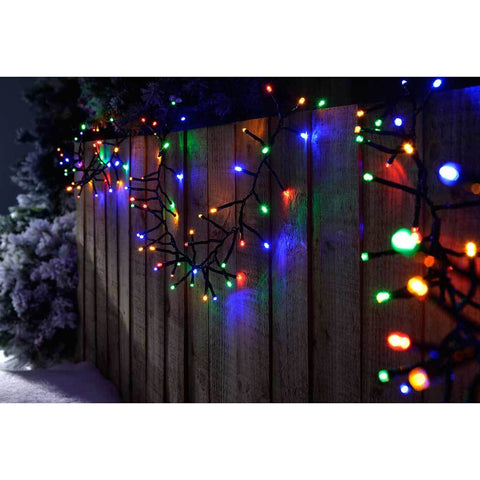 180-LED Chasing Cluster Light String, 2.7 m - Multi-Colour