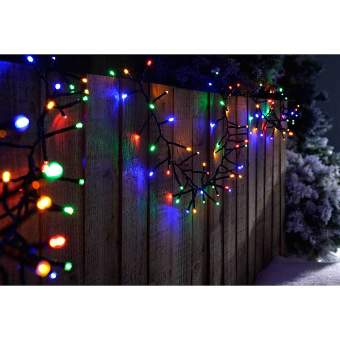 240-LED Chasing Cluster Light String, 3.6 m - Multi-Colour